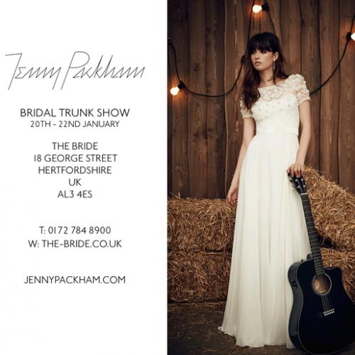 Jenny Packham Bridal Show The Bride