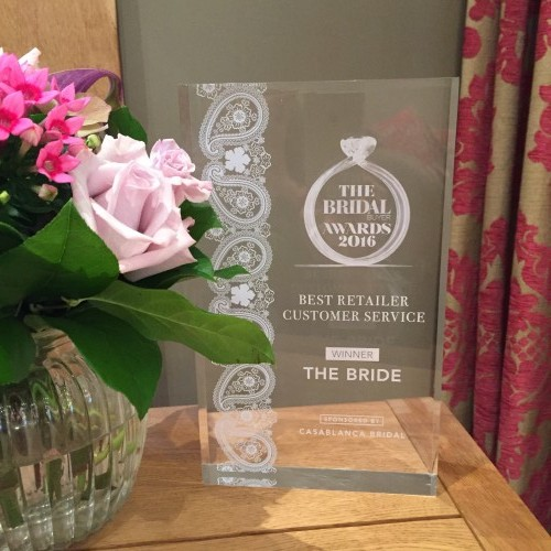 Bridal Awards Best Retailer Customer Service Award 2016