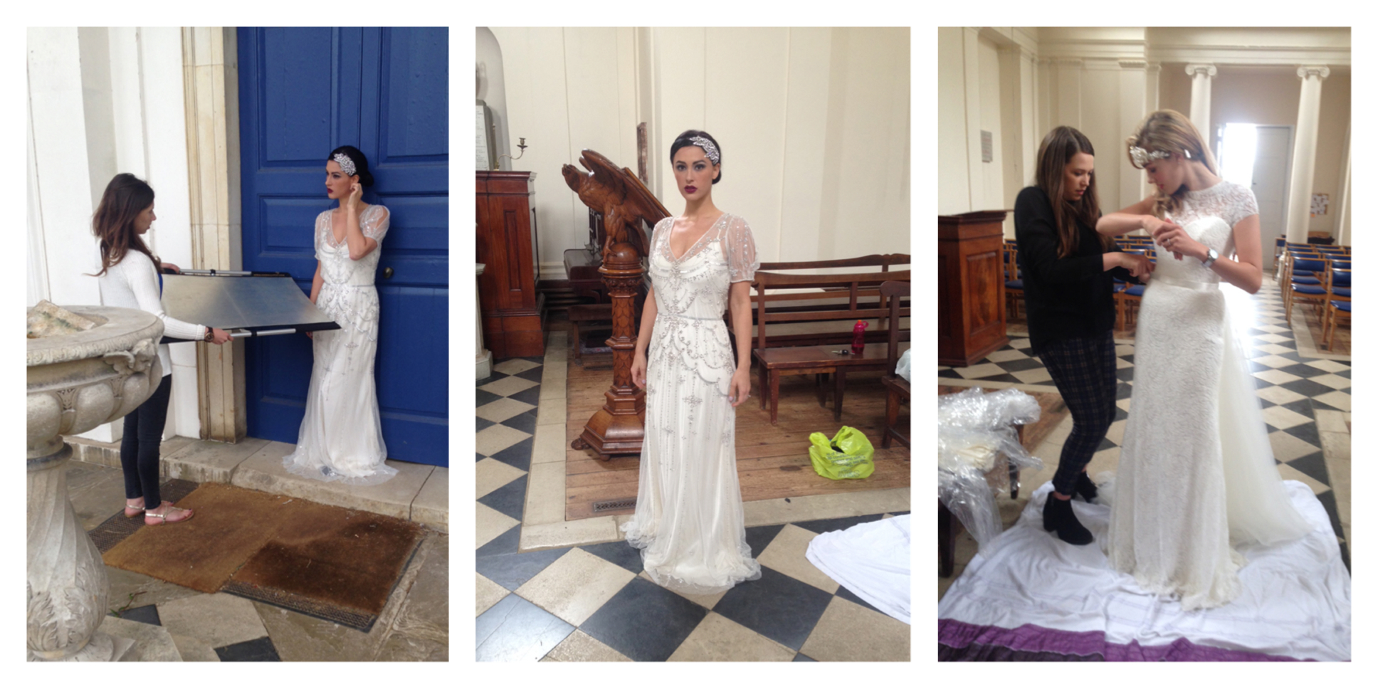 Ayot St Lawrence Church The Bride Fashion Week