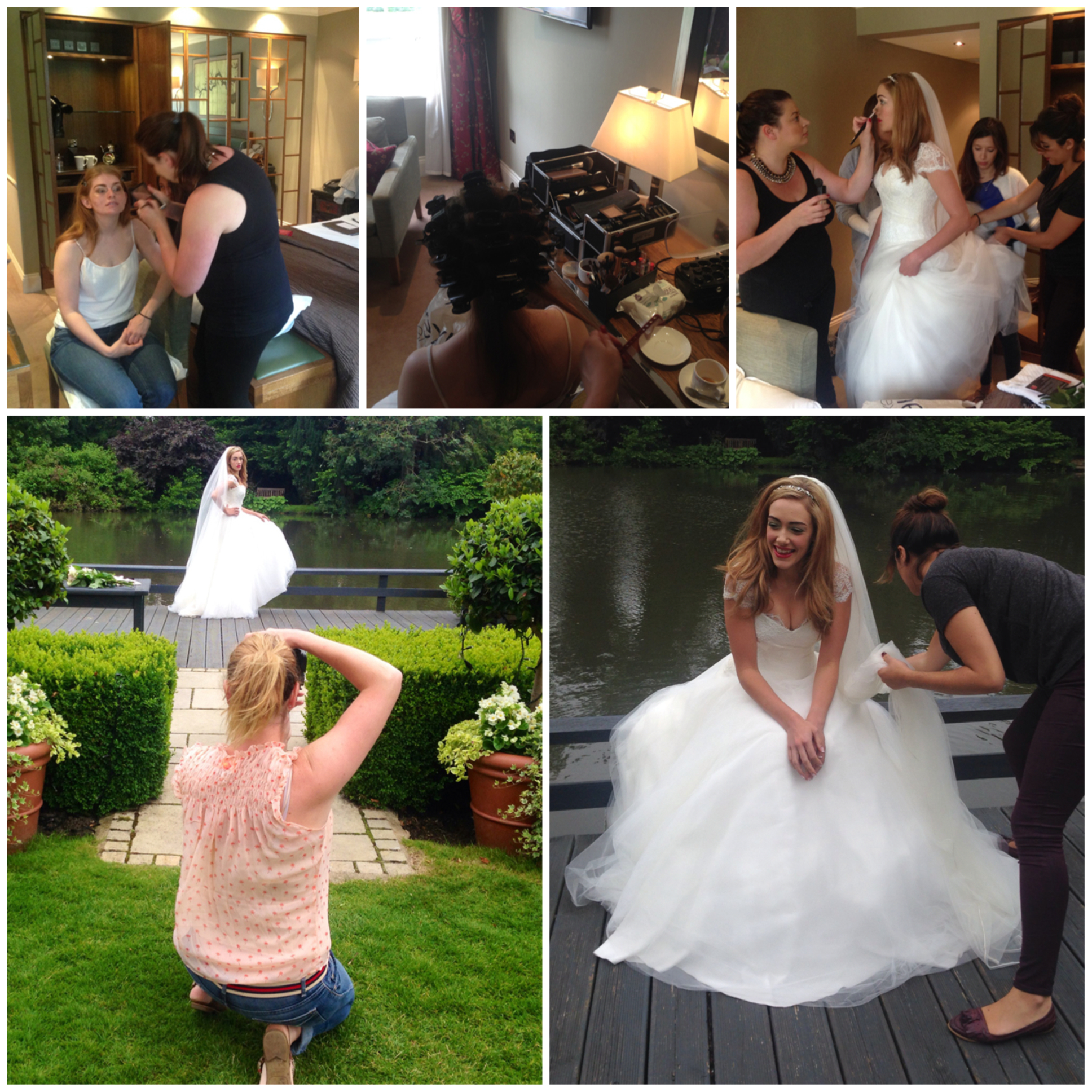 The Bride St Michaels Manor