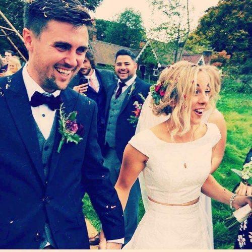 Vicky Boyes Wedding