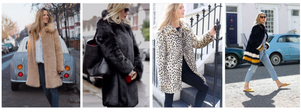 Miranda Dunn Faux Fur Happy Coats
