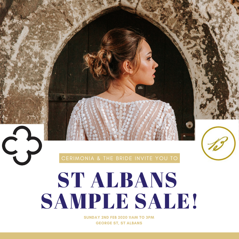 (ENDED) St Albans Sample Sale