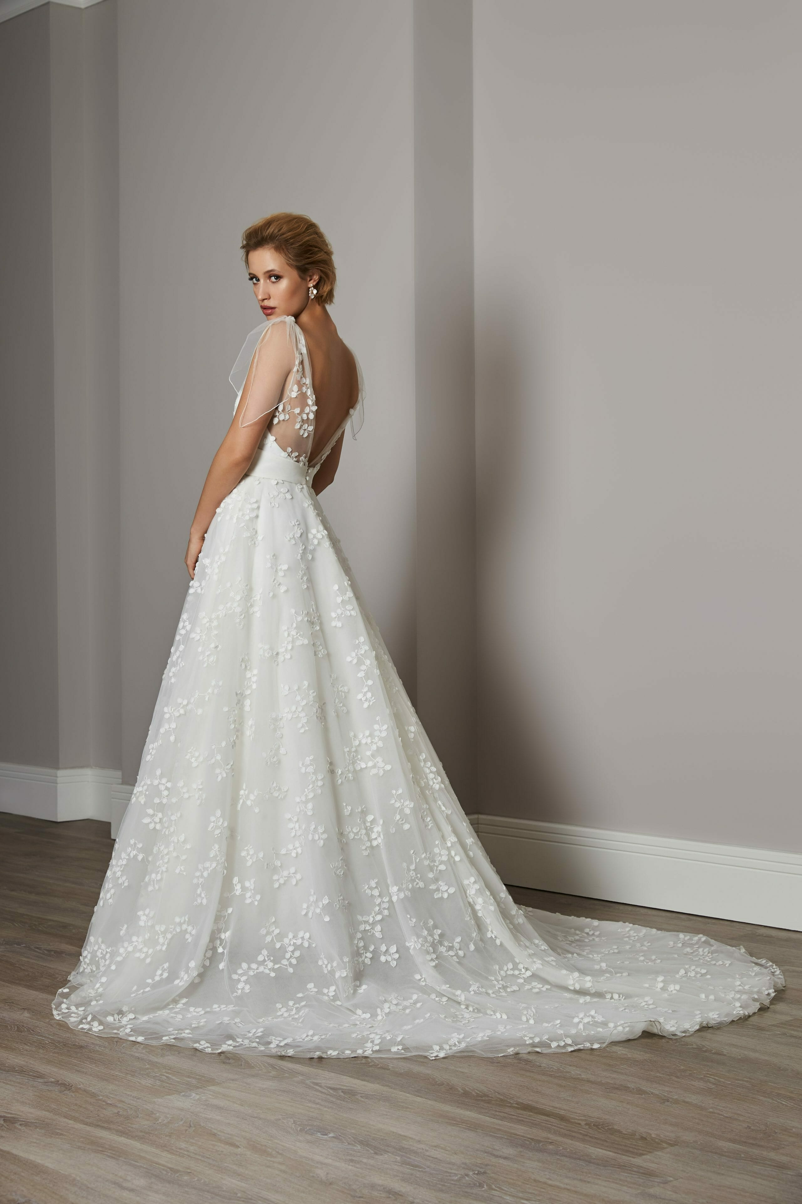 We are proud to be  supporting and championing British bridal designers